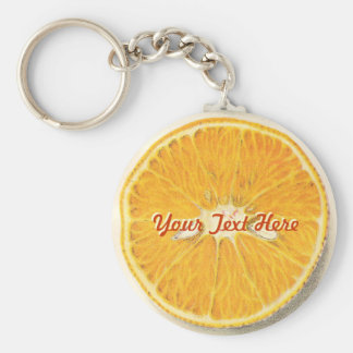 Vintage Orange Keychain