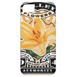 Vintage Orange Lilly Stamp Art iPhone 5 Case