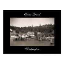 Vintage Orcas Island Postcard