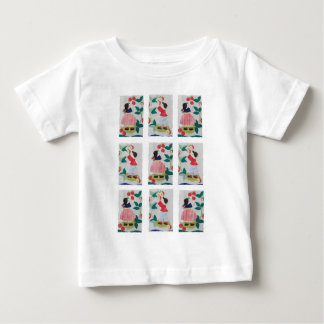 Vintage Orchard Apple Tree Picking Baby T-Shirt