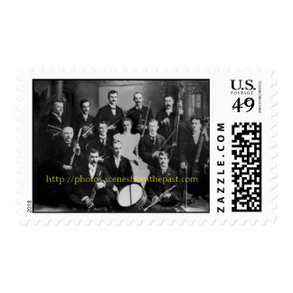 Vintage Orchestra - Customize Postage