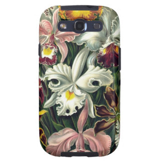 Vintage Orchid Botanicals Galaxy SIII Covers