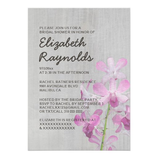 orchid bridal shower invitation orchid bridal shower these and those ...