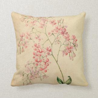 Vintage orchid Pillow