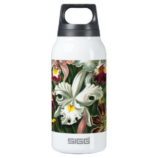 Vintage Orchids 10 Oz Insulated SIGG Thermos Water Bottle