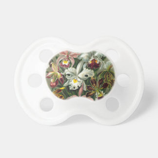 Vintage Orchids Baby Pacifiers