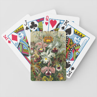Vintage Orchids Bicycle Playing Cards