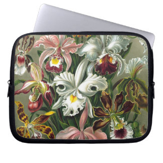 Vintage Orchids Laptop Computer Sleeves