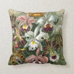 Vintage Orchids Pillows