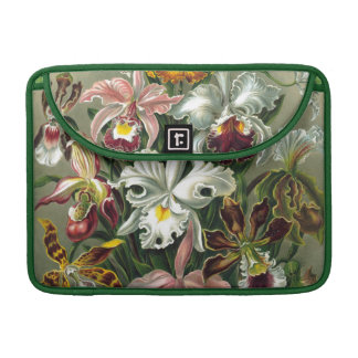 Vintage Orchids Sleeves For MacBooks
