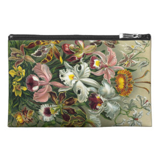 Vintage Orchids Travel Accessory Bags