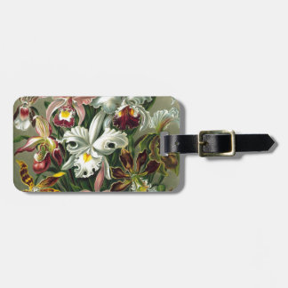 Vintage Orchids Travel Bag Tags