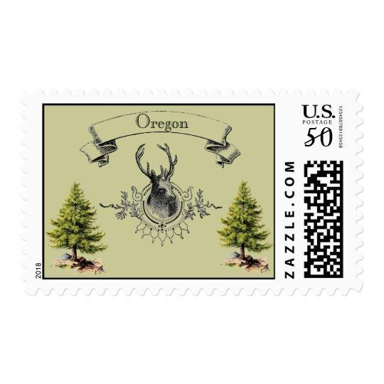 Vintage Oregon Postage