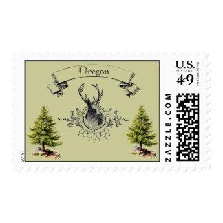 Vintage Oregon Sello