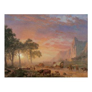 Vintage Oregon Trail Postcard