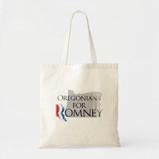 Vintage Oregonians for Romney.png Tote Bags