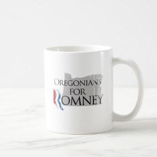 Vintage Oregonians for Romney.png Coffee Mugs