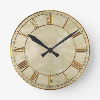 Vintage Oriental Bamboo 1 Wall Clock