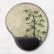 Vintage Oriental Bamboo 1 Gel Mouse Pad
