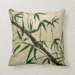 Vintage Oriental Bamboo 1 Pillows