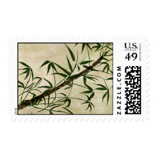 Vintage Oriental Bamboo 1 Stamp