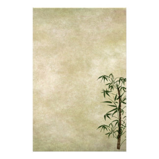 Vintage Oriental Bamboo 1 Stationery