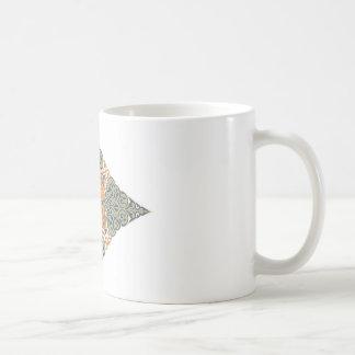 Vintage Oriental Pattern Design Coffee Mug