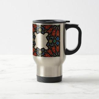 Vintage Oriental Pattern Design Travel Mug