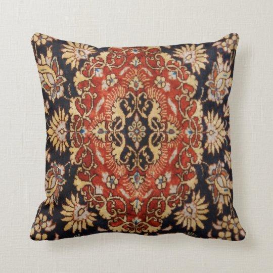 Vintage Oriental Rug - Throw Pillow