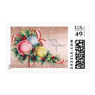 Vintage Ornament Christmas Stamp