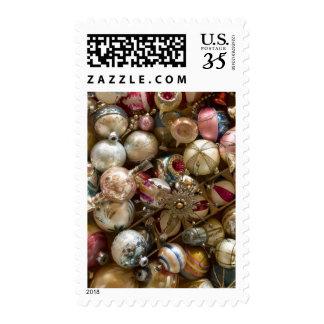 Vintage ornaments postage