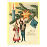 Vintage Ornaments Postcard