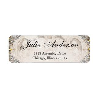 Vintage Ornate Fairytale Storybook Address Labels