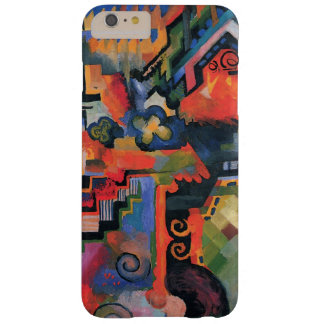 Vintage Orphism, Colored Composition, August Macke Barely There iPhone 6 Plus Case