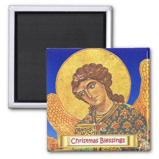 Vintage orthodox ikon, Angel Gabriel Magnet