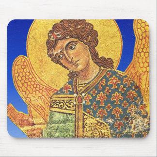Vintage orthodox ikon, Angel Gabriel Mouse Pad