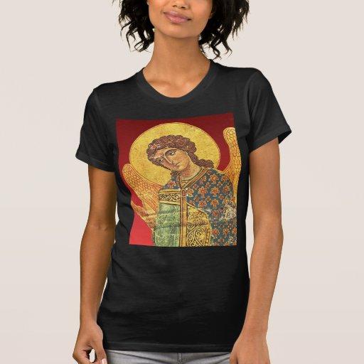 Vintage orthodox ikon, Angel Gabriel Tshirt
