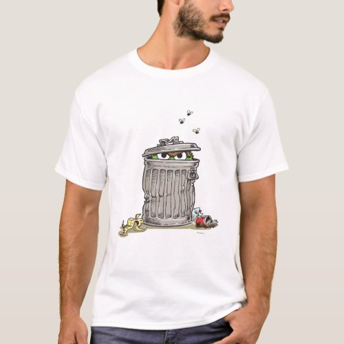 Vintage Oscar in Trash Can T_Shirt