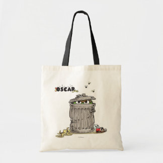 Vintage Oscar in Trash Can Tote Bag