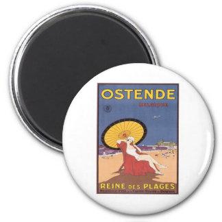 Vintage Ostende Belgique Magnets