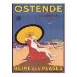Vintage Ostende Belgique Postcards