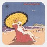 Vintage Ostende Belgique Sticker