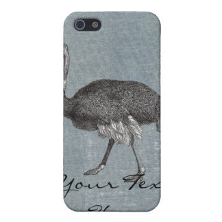 Vintage Ostrich Cover For iPhone SE/5/5s