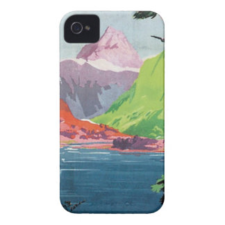 Vintage Otago New Zealand iPhone 4 Case-Mate Cases