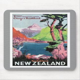 Vintage Otago New Zealand Mousepad