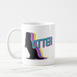 Vintage Otter Lover Cute Coffee Mug Funny Animal