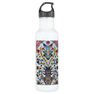 Vintage Ottoman Arabic Tile Vintage Ottoman T Water Bottle