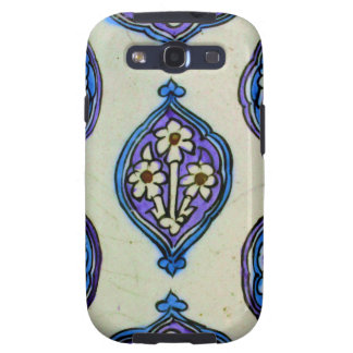 Vintage Ottoman Tile FLORAL Abstract  DESIGN Samsung Galaxy SIII Cover