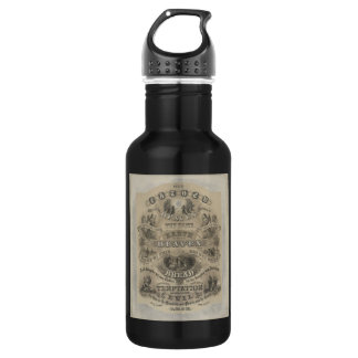 Vintage Our Father Prayer Water Bottle