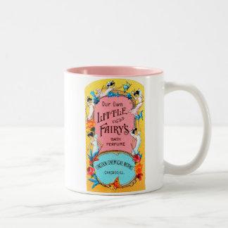 Vintage Our Own Little Fairy's Bath Perfume Two-Tone Coffee Mug